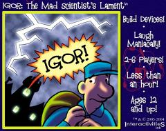 IGOR - Mad Scientist's Lament