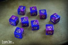 d6 Tube - Blue & Purple w/Sigil of the Dreamlands Design (9)
