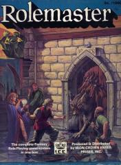 Rolemaster (2nd Edition, 1st Printing)