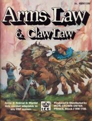 Arms Law & Claw Law (2nd Edition, 1st Printing)