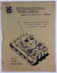 """Vol. 4, #2 """"Strategy & Tactics of Armor Miniatures, Roman Imperial Strategy"""""""