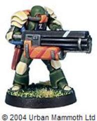 Assault Marine w/Chain Gun