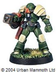 Assault Marine w/Flamethrower