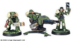 Assault Marine w/Gauss Cannon