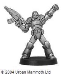 Fenrir's Assault Marine Sergeant