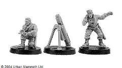 Commando Mortar Team #1