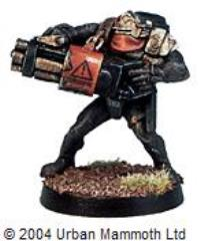 Legionary Chain Gunner