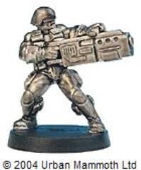Syntha Marine w/Grenade Launcher