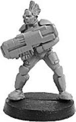 Prosthene Sergeant w/Pulse Rifle