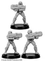 Prosthene Marines w/Pulse Rifles (4)