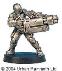 Marine w/Chain Gun