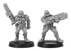 Suppressor w/Grenade Launchers