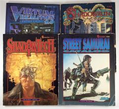 Shadowrun Sourcebook and Supplement Collection - 4 Books!
