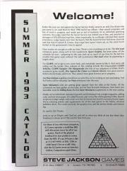 1993 Summer Catalog