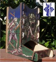 Knockdown Dice Tower - Zombies!