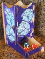 Knockdown Dice Tower - Cosmic