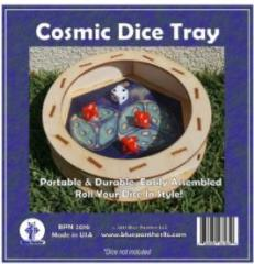 Circular Dice Tray - Cosmic
