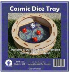 Circular Dice Tray - Cosmic