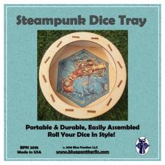 Circular Dice Tray - Steampunk