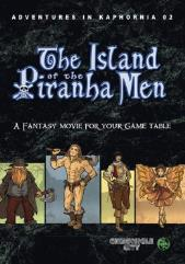 Vol. 2 - The Island of the Piranha Men