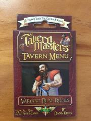 Tavern Masters - Tavern Menu Expansion