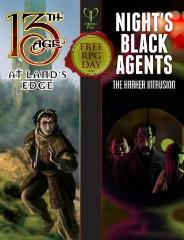 At Land's Edge/The Harker Intrusion (Free RPG Day 2015)