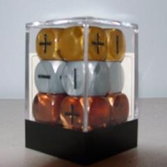 Fudge Dice - Olympic (Gold, Silver, and Bronze) (12)