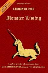 Monster Listing