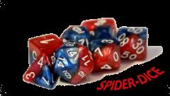 Poly Set Spiderdice (7)