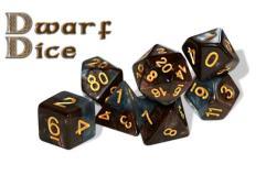 Poly Set Dwarf Dice (7)