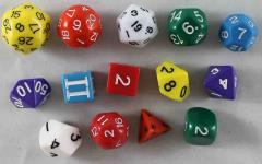 Sezrekan's Sanguivorous Solids Dice Set (14)