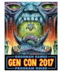 Gen Con 2017 Program Guide w/2 DCCRPG Modules