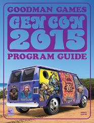 Gen Con 2015 Program Guide w/4 DCCRPG Modules