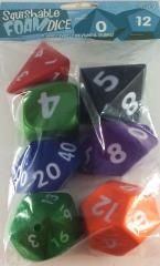 Squishy Dice - Poly Set - Multi-Colored (7)