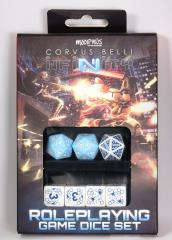 Infinity RPG - Dice Set - Pan Oceania