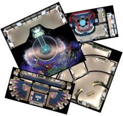 Next Generation Starfleet Deck Tiles