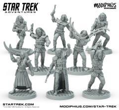 Klingon Warband Minis Box Set