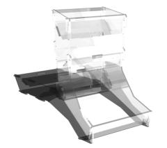 DT-10 Dice Tower - Clear