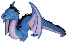 Blue Dragon Plush - Large