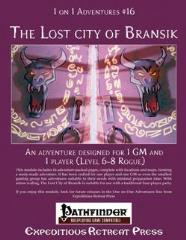Lost City of Bransik, The