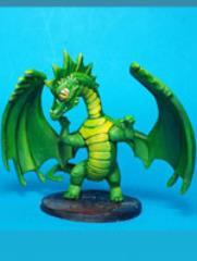 Chibi Dragon - Uaine