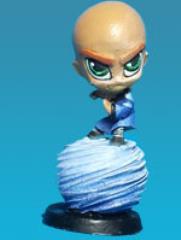 Chibi Monk w/Airball