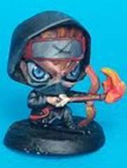 Chibi Ninja w/Fire Bow
