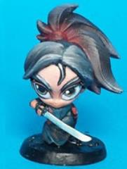 Chibi Samurai - Female