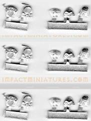 Frog Shoulder Pads Sprue Pack (6)