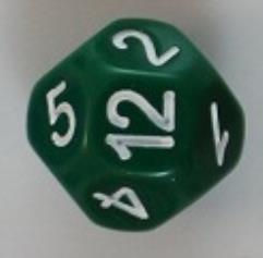 D14 Green w/White
