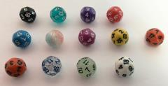 d18 - Complete Set of all 13 Colors!