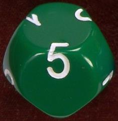 D7 Green w/White