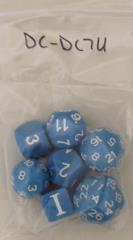 Dungeon Crawl - Blue w/White (7)