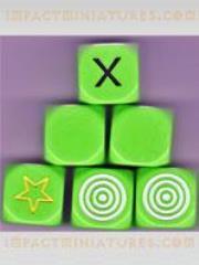 D6 Elfball Challenge Dice (6)